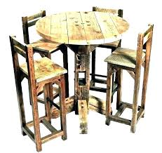 patio bar table and chairs set pub tables round chair stool stools s