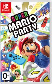<b>Игра для приставки Nintendo</b> Switch: Super Mario Party (n) купить ...