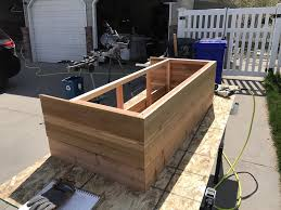 to build a tiered garden planter box