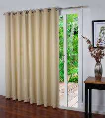 window treatments spanish steps grommet patio panel flowers sliding door curtain sliding glass door