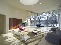 Multiple Rugs In Living Room Modern House Bride Large Windows Hallway Recessed Lighting Glass