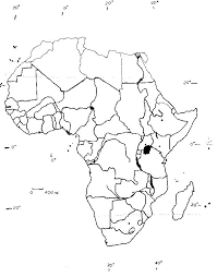 Africa Map Empty Travel Maps And Major Tourist Attractions Maps