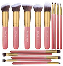 makeup brushes. bs-mall new 14 pcs makeup brushes premium synthetic kabuki brush set cosmetics foundation