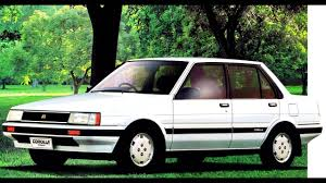 Toyota Corolla Sedan JP spec '1983–87 - YouTube