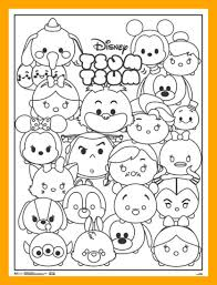 59 Tsum Tsum Coloring Pages Printable Coloring Pages For Kids New