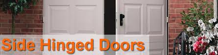 side hinged garage doorsSide Hinged Garage Doors  Steel Timber  Purpose Made Garage