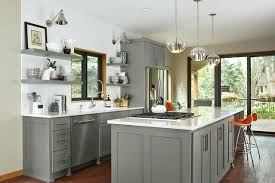 grey cabinets with white countertops white kitchen cabinets