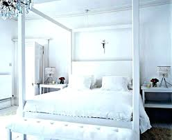 White Wooden Canopy Beds Twin Wood Canopy Bed Four Poster Bed ...