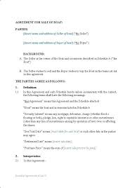 Business Purchase Agreement Template Free 9 Sale Contract Templates ...