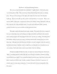 Thematic Essay    th Grade L A