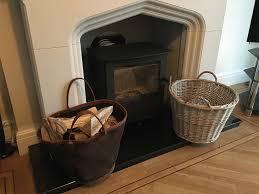 connells of sheffield log storage basket liner c 1706 wbr