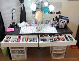 Makeup Vanity For Bedroom Bedroom Divine Make Up Desk Ideas With Vanity Mirrored Desk Makeup