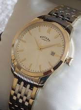 men s rotary watches rotary men s gb03851 03 two tone classic bracelet swiss watch rrp £129