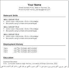Free Online Resumes Builder Free Resume Build Online Resumes