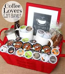 Cute DIY gift basket idea for Coffee Lovers using K-Cups via Happy Go Lucky