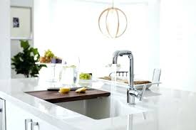 kohler double sink sink with cutting board kitchen island sink with sliding cutting board double sink