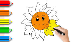 Coloring Pages for Kids with Coloring Pages the Sun | Drawing for ...