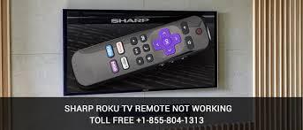 sharp roku tv. sharp roku tv remote not working errors tv
