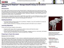 shooting an elephant lesson plans worksheets reviewed by teachers  shooting an elephant george orwell s essay on his life in burma
