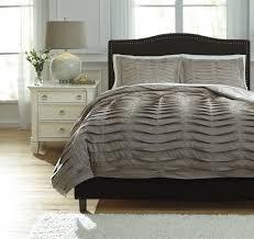 voltos dark brown king duvet cover set