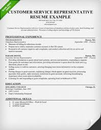 resume for customer service representative resume skills resume examples