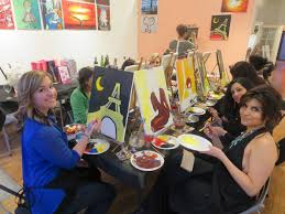 vip paints painting and wine ob painting cl private painting cl chicago