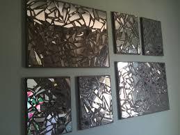 ergonomic mirror mosaic wall art diy custom mosai on beach style photo rear wall broken glass