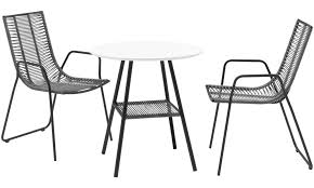 outdoor chairs and tables. Outdoor Tables - Elba Table (for In And Use) Round White Chairs