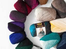 Lion Brand Homespun Yarn Color Chart Free Beginner Knitted Afghan Patterns