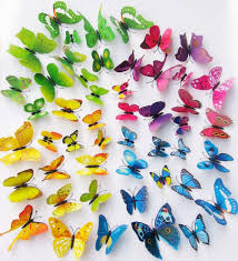 3d Butterfly Wall Decor Top 3d Butterfly Wall Stickers Butterflies Decors Art Diy