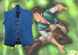 details about tangled rapunzel flynn rider cosplay costume men s outfit vest only