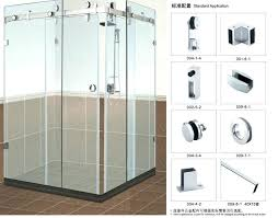 shower door accessories bathroom glass sliding door accessories for shower room dreamline shower door accessories