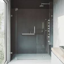 vigo shower doors. VIGO Pirouette Adjustable Frameless Pivot Shower Door Vigo Doors H