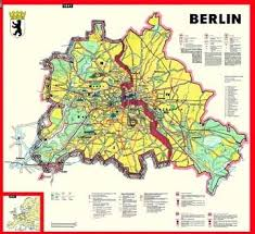 mapping divided cities and their separation walls berlin and Berlin Sites Map this map, like other west german produced maps at the time, also depicts both west and east berlin, again emphasizing the essential unity of the territory berlin tourist sites map