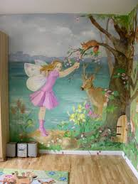 Bedroom Wall Murals Girls Scheme