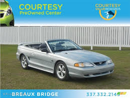 1995 Silver Metallic Ford Mustang GT Convertible #60379332 ...