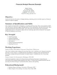Financial Data Analyst Resume Healthcare Financial Analyst Resume