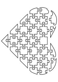 Kleurplaat Puzzel Hart Afb 21144 Images