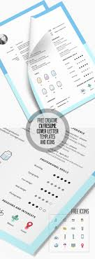 Resume With Cover Letter 100 Free PSD CVResume and Cover Letter Templates Freebies 46