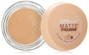 maybelline dream matte mousse foundation image