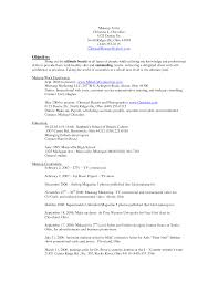 sample consulting resume objective