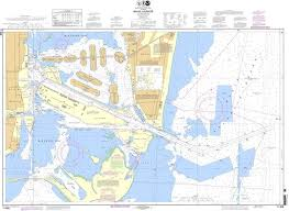 Noaa Navigation Charts Noaa Nautical Chart 11468 Miami Harbor