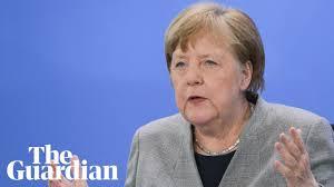 Angela Merkel uses science background in coronavirus explainer - YouTube