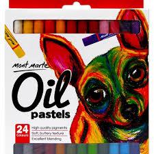 Oil Pastels 24pce Dubai Library Distributors
