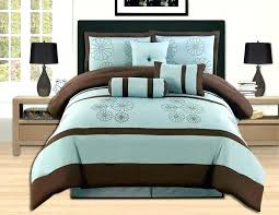 brown and blue bedding sets king quilt set chocolate comforter me within decorations tan gold dark blue and brown duvet cover
