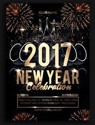 50 amazing christmas and new year s eve flyers for the holiday season new year celebration party flyer