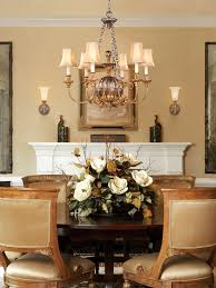 floral arrangements dining room table. floral arrangements for dining room table of fine design decorating traditional with light awesome