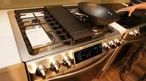 samsung gas stove top