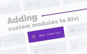 Guide to Adding Custom Modules to the Divi Builder