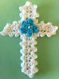 Crochet Cross Pattern Unique Easter Cross Appliqué Free Pattern Maggie's Crochet